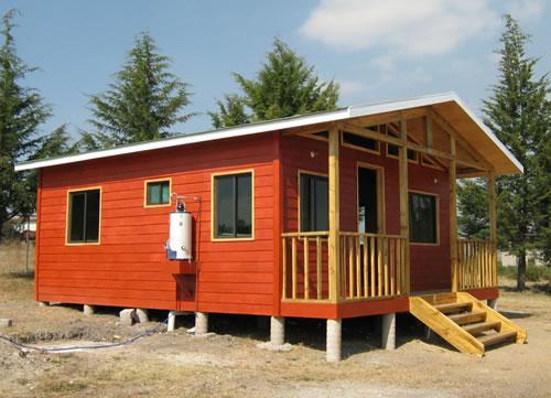 Casa de madera 44m2 Tepotzotlan