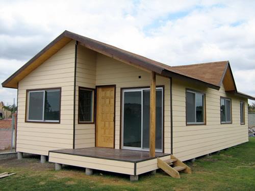 Casa de madera Valsequillo 73 m2