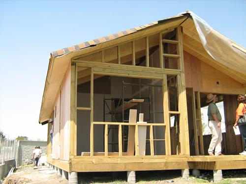 Casas de madera construccion